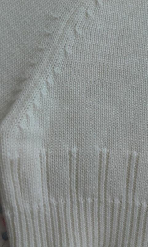 Розпродаж!мастхев кроп-свитер кардиган ажурной вязки/h&м/корот... - Фото 4
