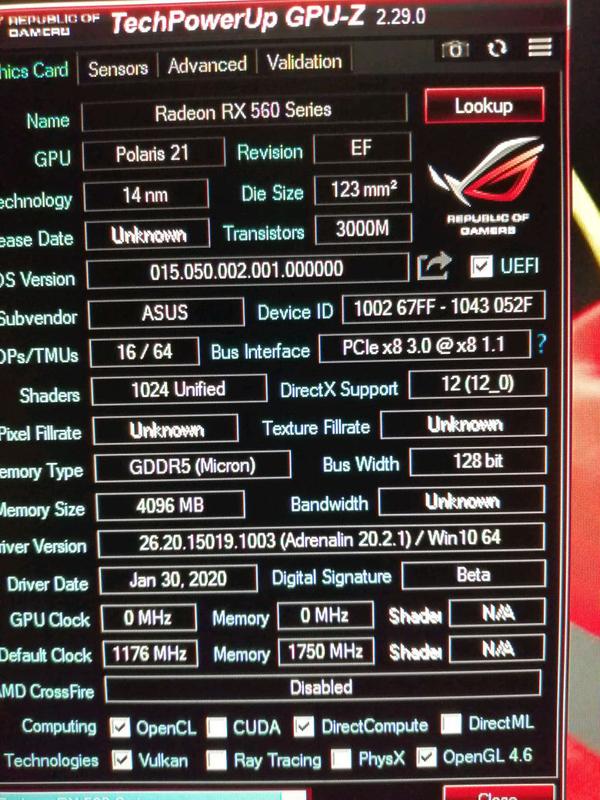 Видеокарта Asus Rog Strix Rx560 EVO  Gaming 4 Gb - Фото 2