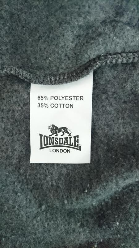 Утеплене худі lonsdale - Фото 2
