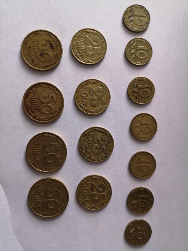 Комплект монет 1992 года