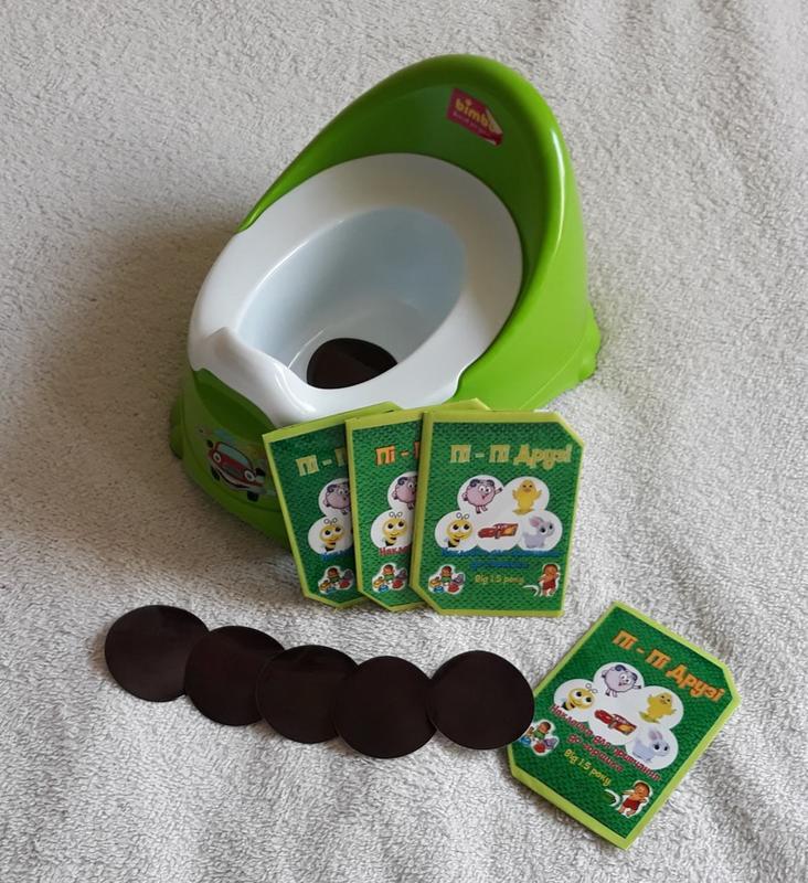 Обучающие наклейки для приучения ребенка к горшку Пі-Пі Друзі - Фото 2