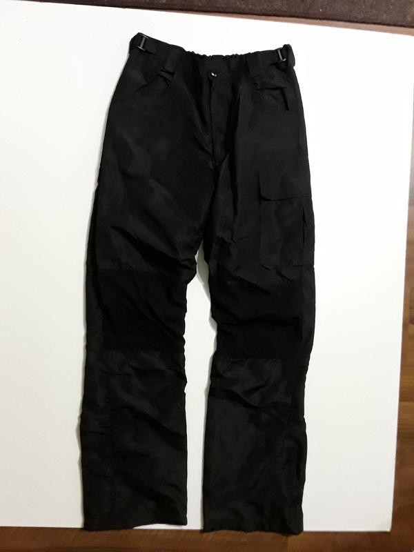 Фирменные балоневые брюки штаны на подкладке