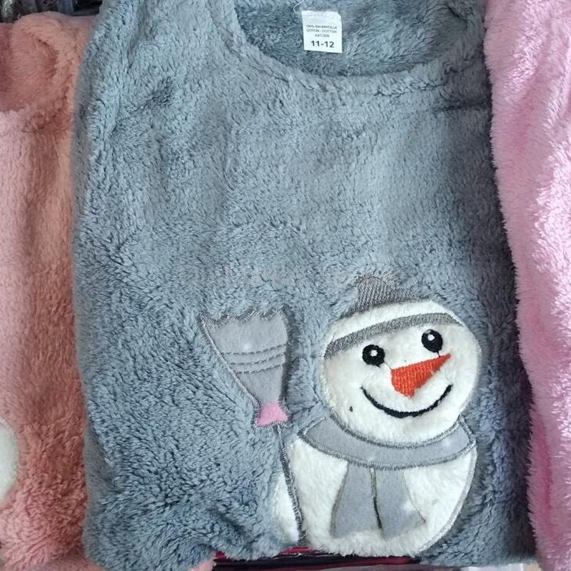 Теплая пижама для девочки - Фото 2