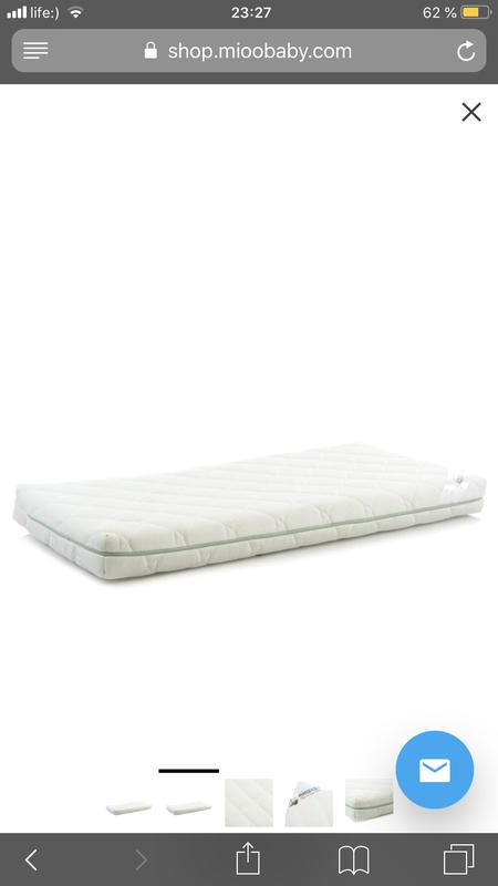 Матрац для детской кроватки Mioobaby