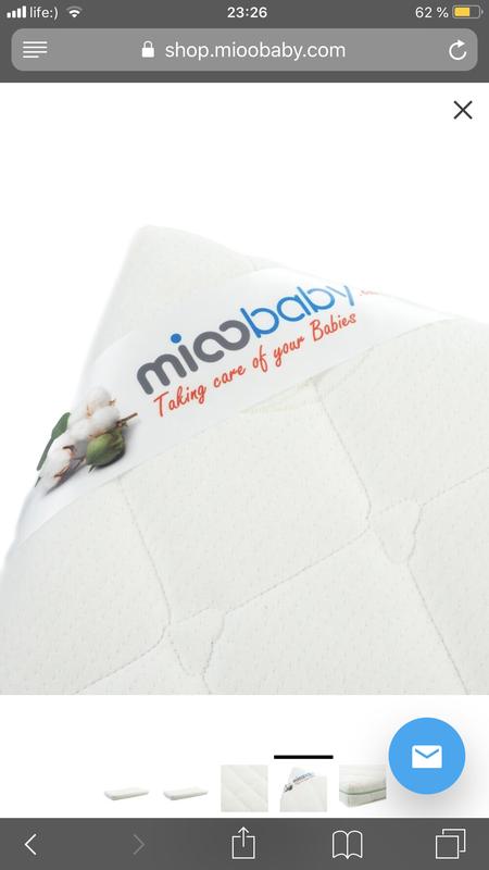 Матрац для детской кроватки Mioobaby - Фото 2