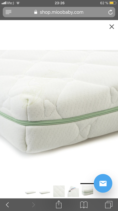 Матрац для детской кроватки Mioobaby - Фото 4