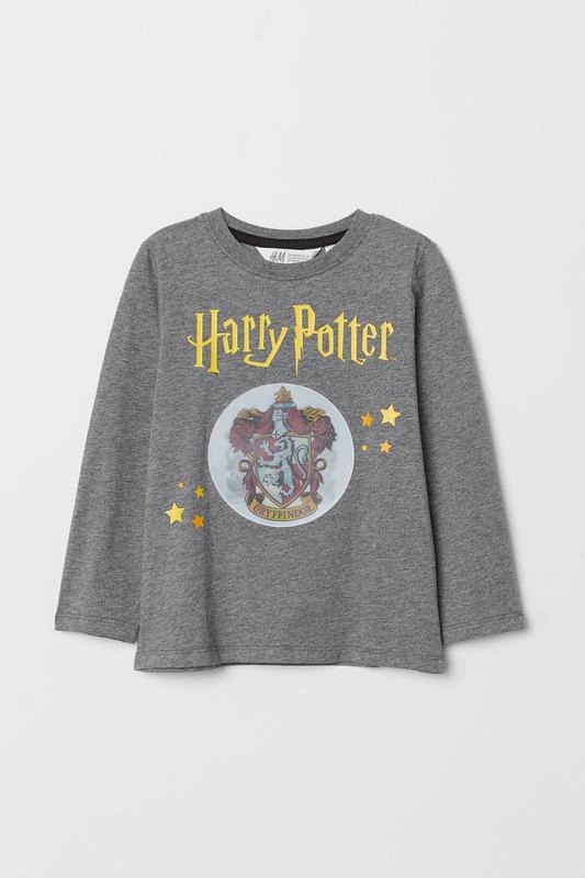 реглан H&M  Гарри Потер с Интерактивным переливающимся рисунком