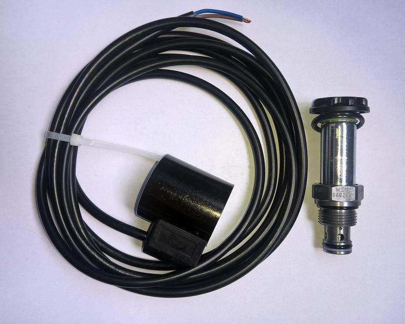 Электромагнитный клапан одностороннего действия