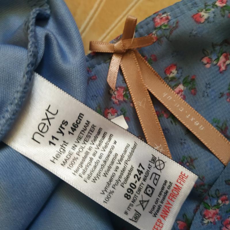Невероятно нежно и утонченное платье в мелкий цветочек в пасте... - Фото 4