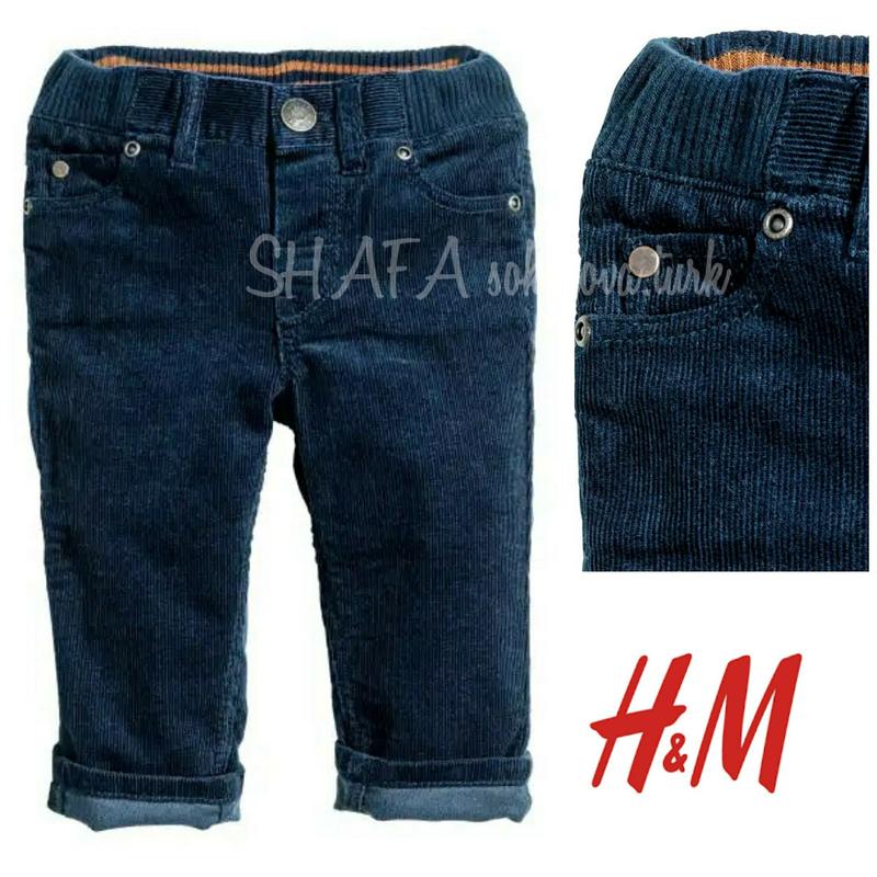 Вельветовые брюки штаны для мальчика 86см 12-18 мес от h&m