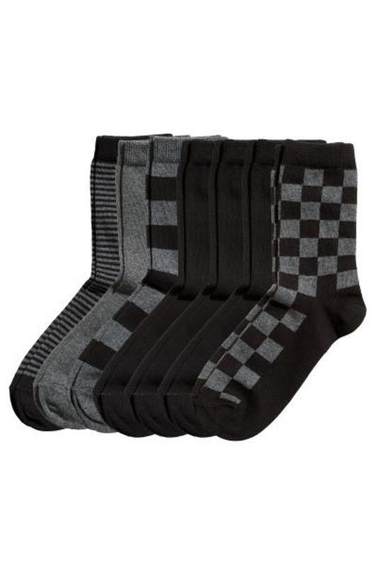 Комплект 7 пар носки носочки размер 22-24 от h&m