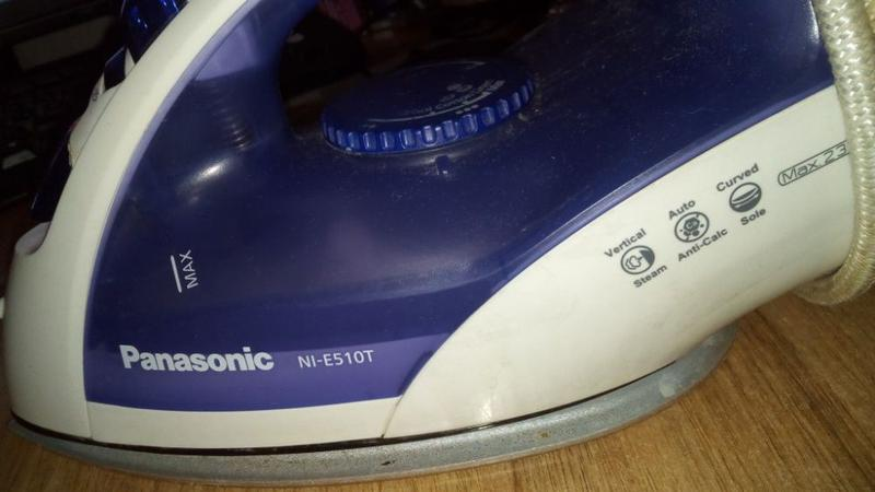 Утюг Panasonic NI-E510T в хорошем состоянии - Фото 2