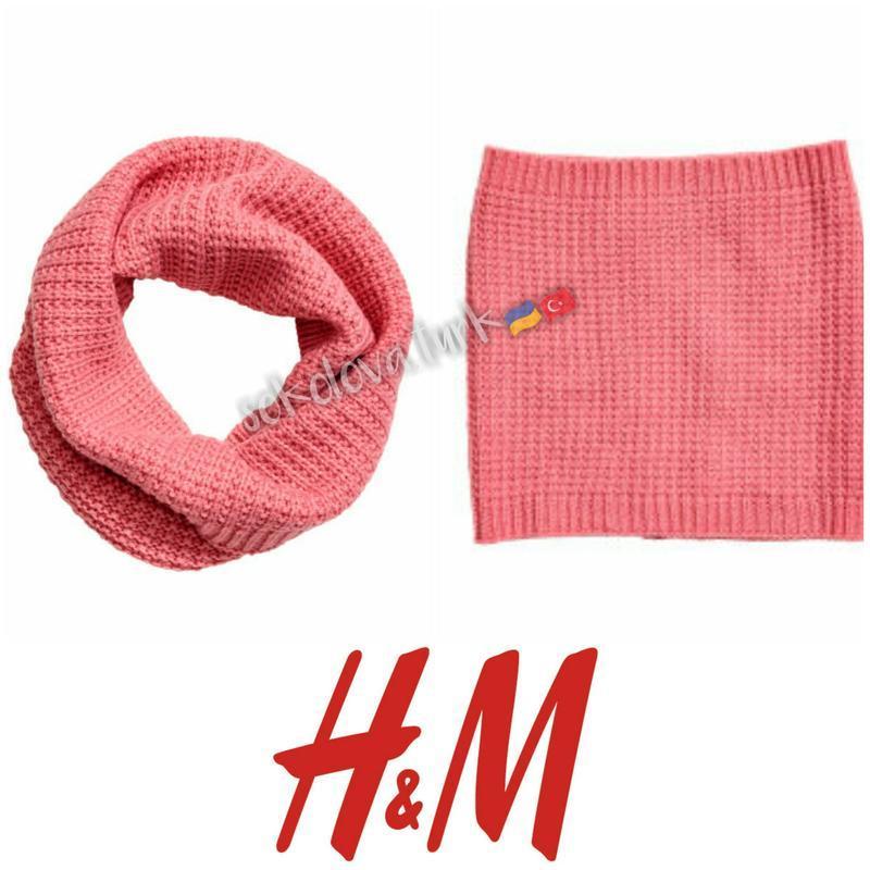 Снуд хомут шарф для девочки от h&m