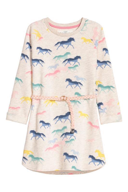Свитшот платье тёплое сукня осеннее от h&m
