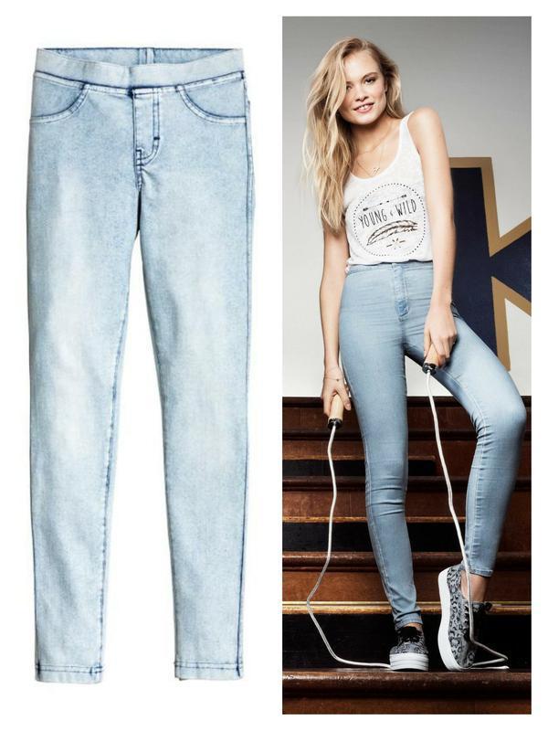 Джеггинсы штаны брюки от h&m