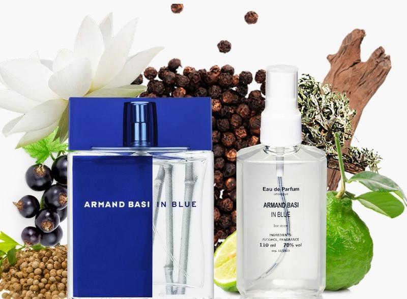 Мужская парфюмированная вода 110 мл аналог armand basi in blue