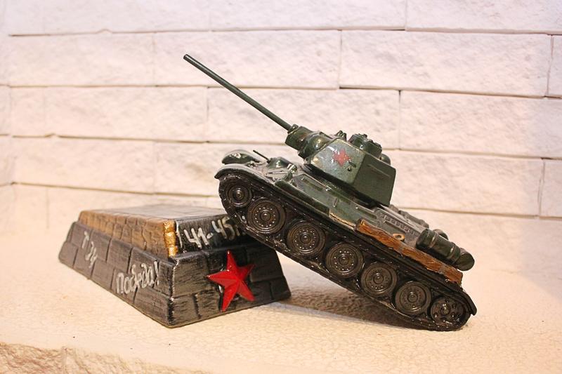Танк Копилка Т34-76WoT