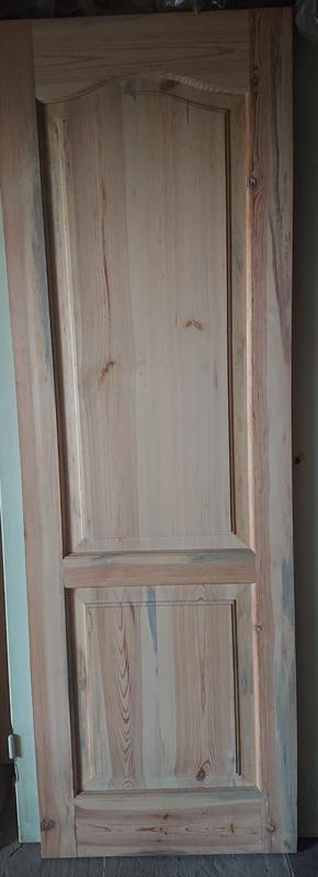 Комплект дверей сосна (натуральное дерево, ручная работа) НОВЫЕ - Фото 2