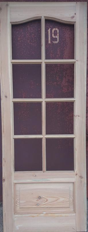 Комплект дверей сосна (натуральное дерево, ручная работа) НОВЫЕ - Фото 4