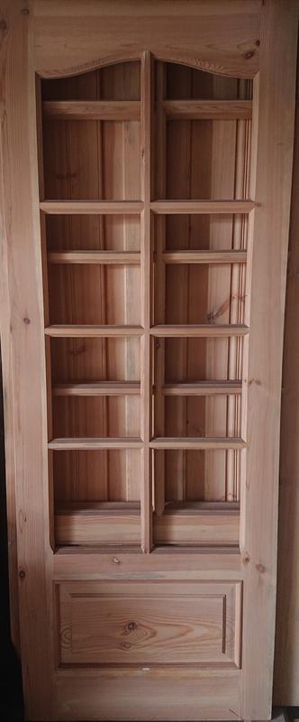 Комплект дверей сосна (натуральное дерево, ручная работа) НОВЫЕ - Фото 7