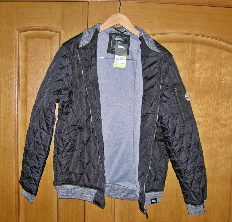 Куртка, бомбер No Fear. Американская фирма. Новая. Оригинал. Раз - Фото 3