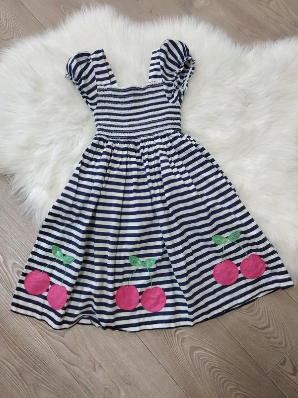 Легкий летний хб сарафан летнее платье для девочки