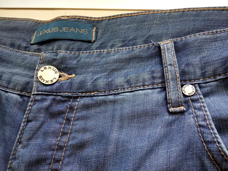 Шорты LEXUS.Летний,тонкий джинс. - Фото 4