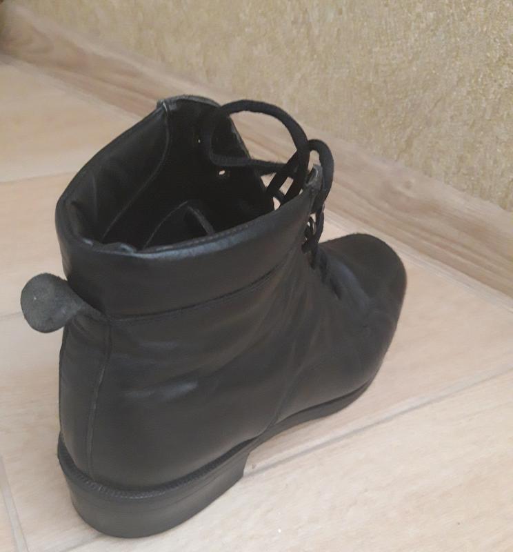 Ботинки кожаные. - Фото 5