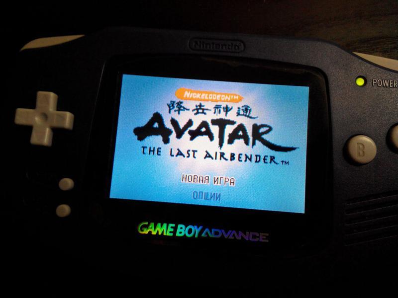 Игра Картридж Avatar Nintendo DS GBA Game boy advance Аватар гра