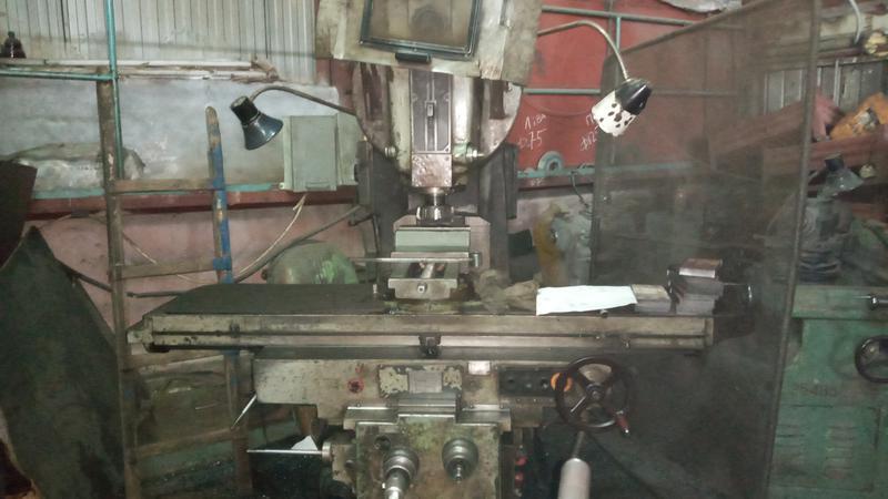 Продам фрезерный станок ВМ127 (аналог 6Р13)