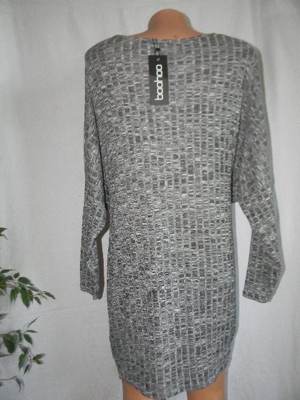 Новое трикотажное платье boohoo - Фото 3