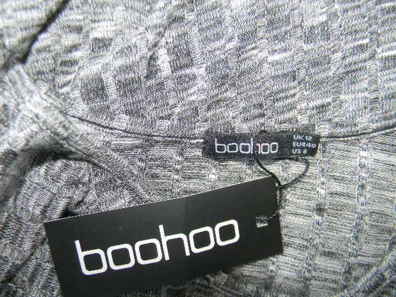 Новое трикотажное платье boohoo - Фото 4