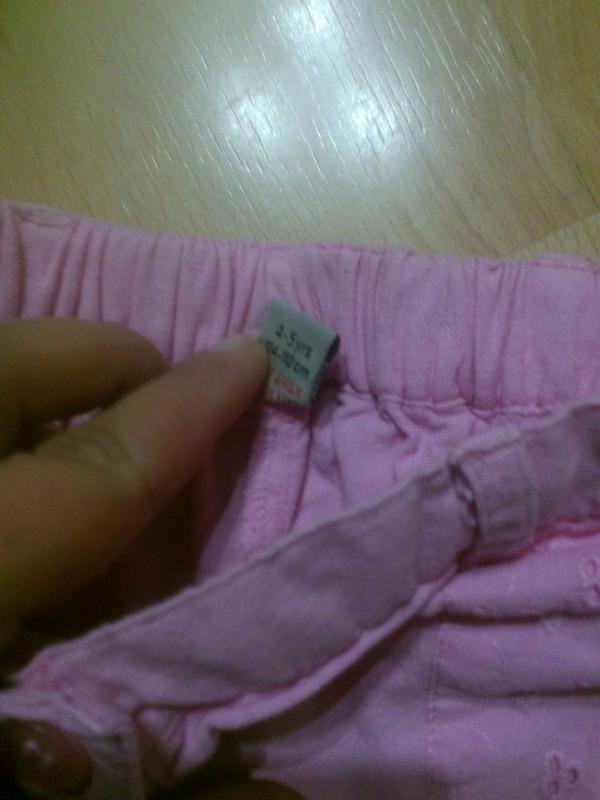 Фирменные легкие шорты 4-5 лет - Фото 2
