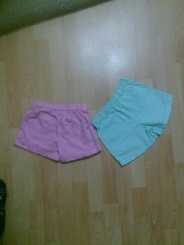 Фирменные легкие шорты 4-5 лет - Фото 3