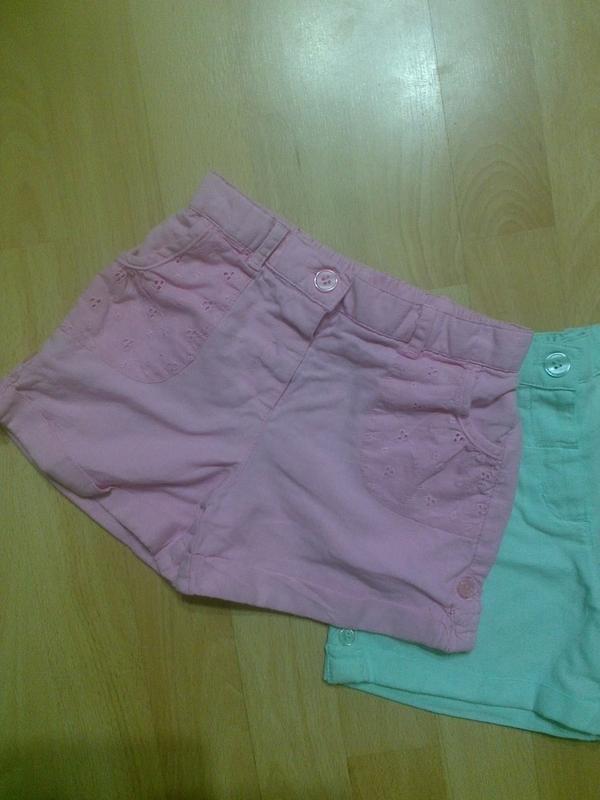 Фирменные легкие шорты 4-5 лет - Фото 5