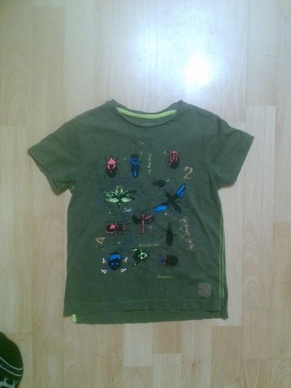 Фирменная футболка 5-6 лет