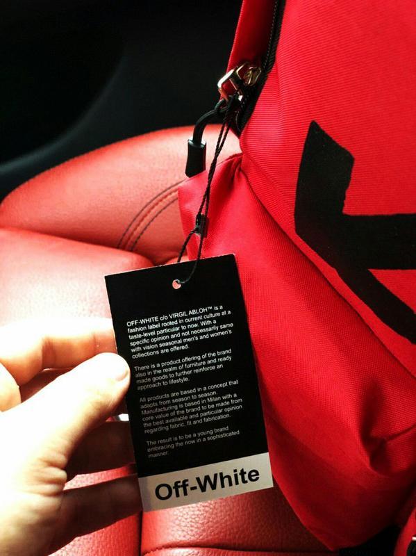 Рюкзаки Off- White - Фото 4