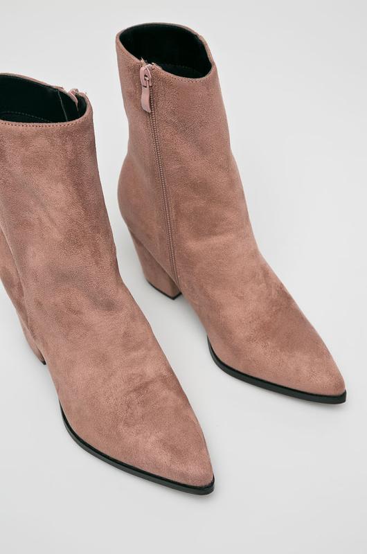 Новые ботинки ANSWEAR HERITAGE бежевые - Фото 3