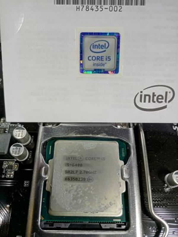 Gigabyte GA-H110m-2S CPU Intel Core i5 6400 SR2S7 2.7Ghz