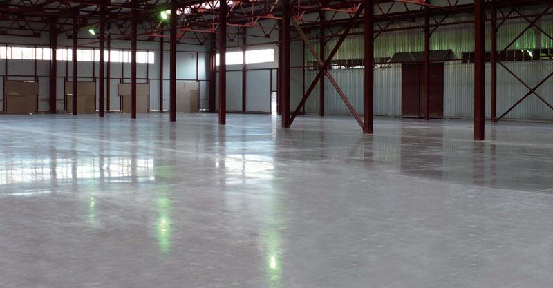 Полимерные полы, бетонные полы, стяжка пола.