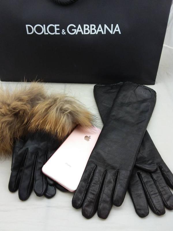 Стильные модные перчатки d&g италия