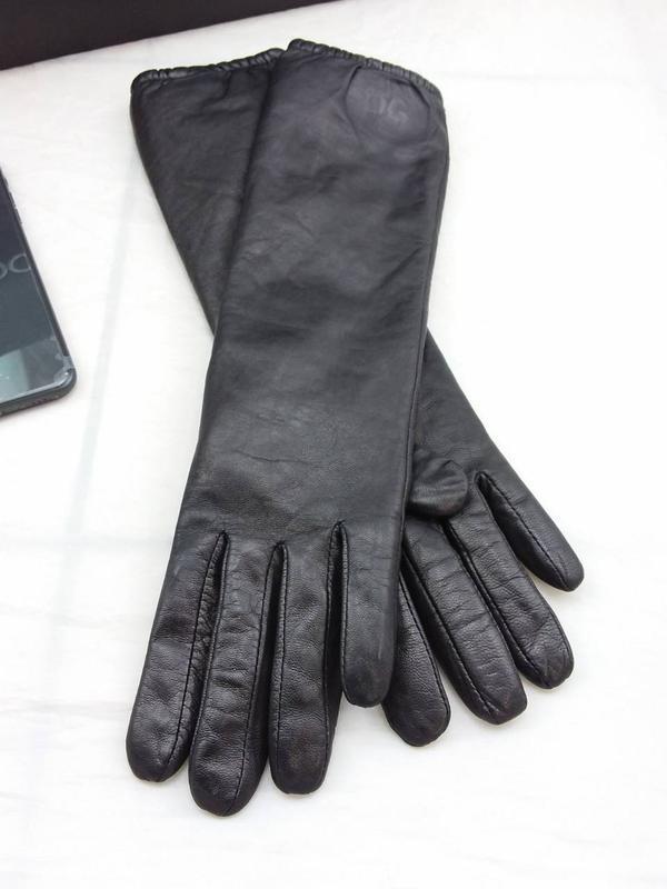 Стильные модные перчатки d&g италия - Фото 3