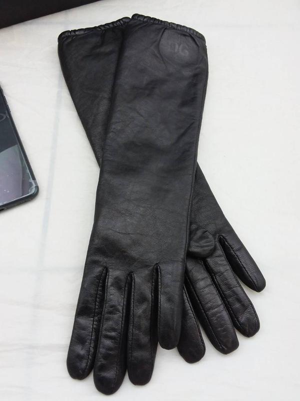 Стильные модные перчатки d&g италия - Фото 5