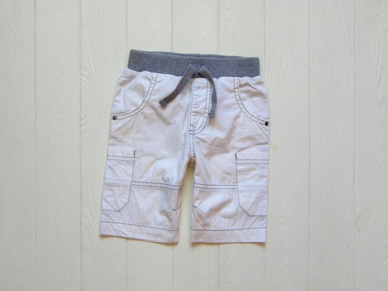 Next. размер 3-4 года. белоснежные шорты для мальчика
