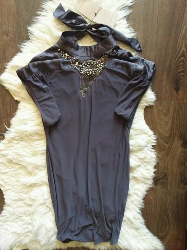 Супер платье италия шелк s