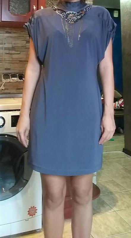 Супер платье италия шелк s - Фото 4