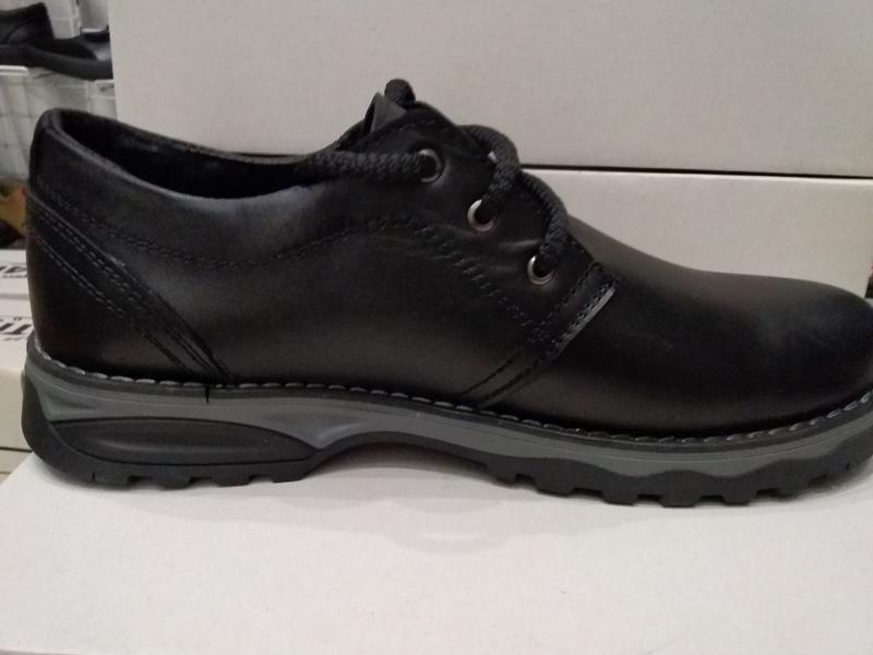 Туфли мужские кожаные - Фото 4