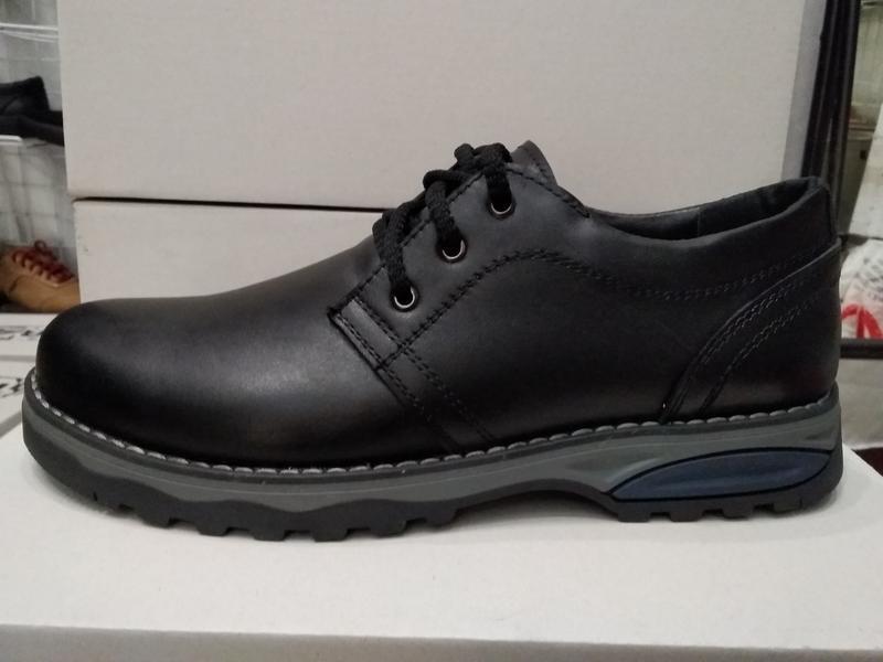 Туфли мужские кожаные - Фото 5