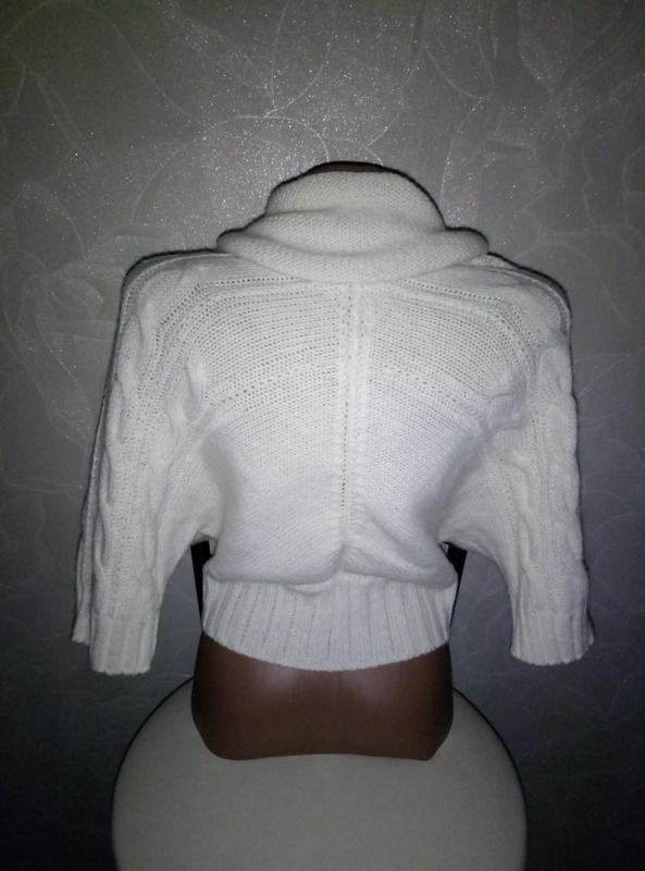 Очень красивая белая кофта 💝💝💝 - Фото 2