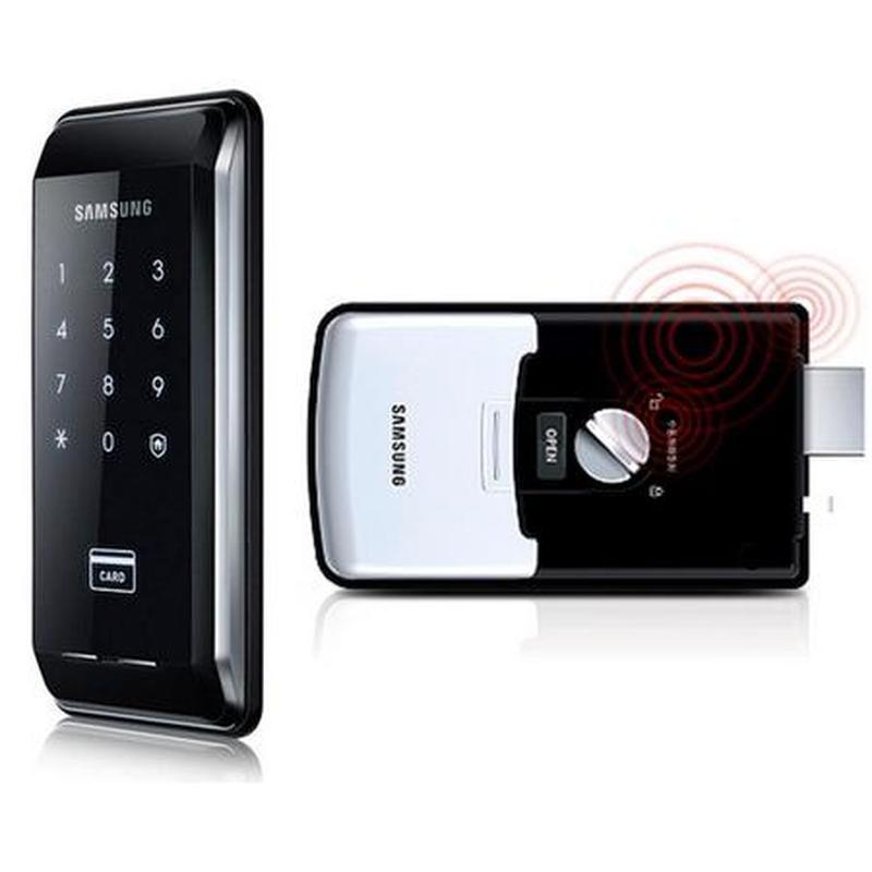 Замок электронно механический сенсорный Samsung EZON SHS-1321(292